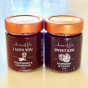 Strawberry & Champagne Jam (I Love You, A Taste of Paris) - Rosalie Gourmet Market
