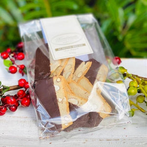 Cesare Almond Bread Chocolate Dipped 150g - Rosalie Gourmet Market