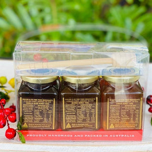 Beelicious Honey Trio Gift Set - Ogilvie & Co - Rosalie Gourmet Market