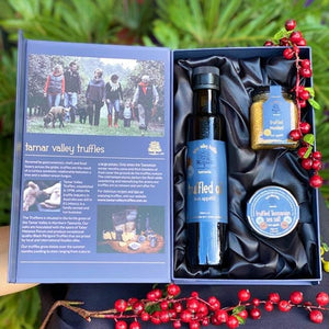 Tamar Valley Trio Gift Pack - Truffled Oil, Mustard & Sea Salt - Rosalie Gourmet Market