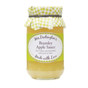 Bramley Apple Sauce - Mrs Darlington's 312g - Rosalie Gourmet Market