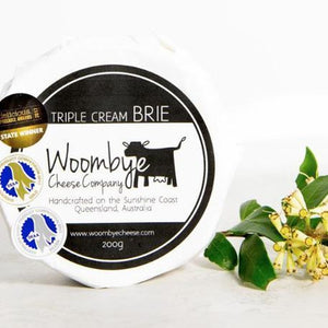 Woombye Triple Cream Brie