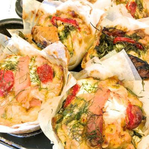 Savoury muffin - grande size - bacon & egg-Catering-Rosalie Gourmet Market-Rosalie Gourmet Market
