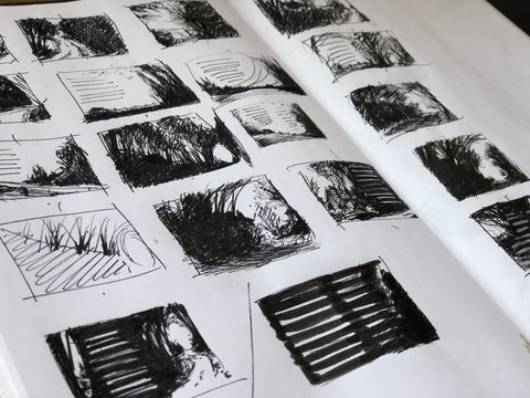 Studio, 7 August 2018 - storyboards