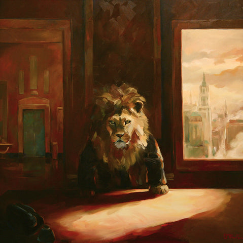 The boardroom lion