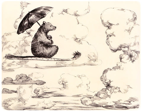 The Flying Bear (pen)