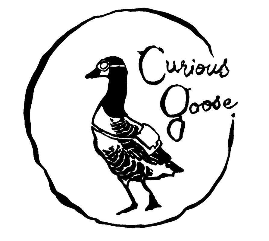 Curious Goose, cafe logo design (Melbourne).