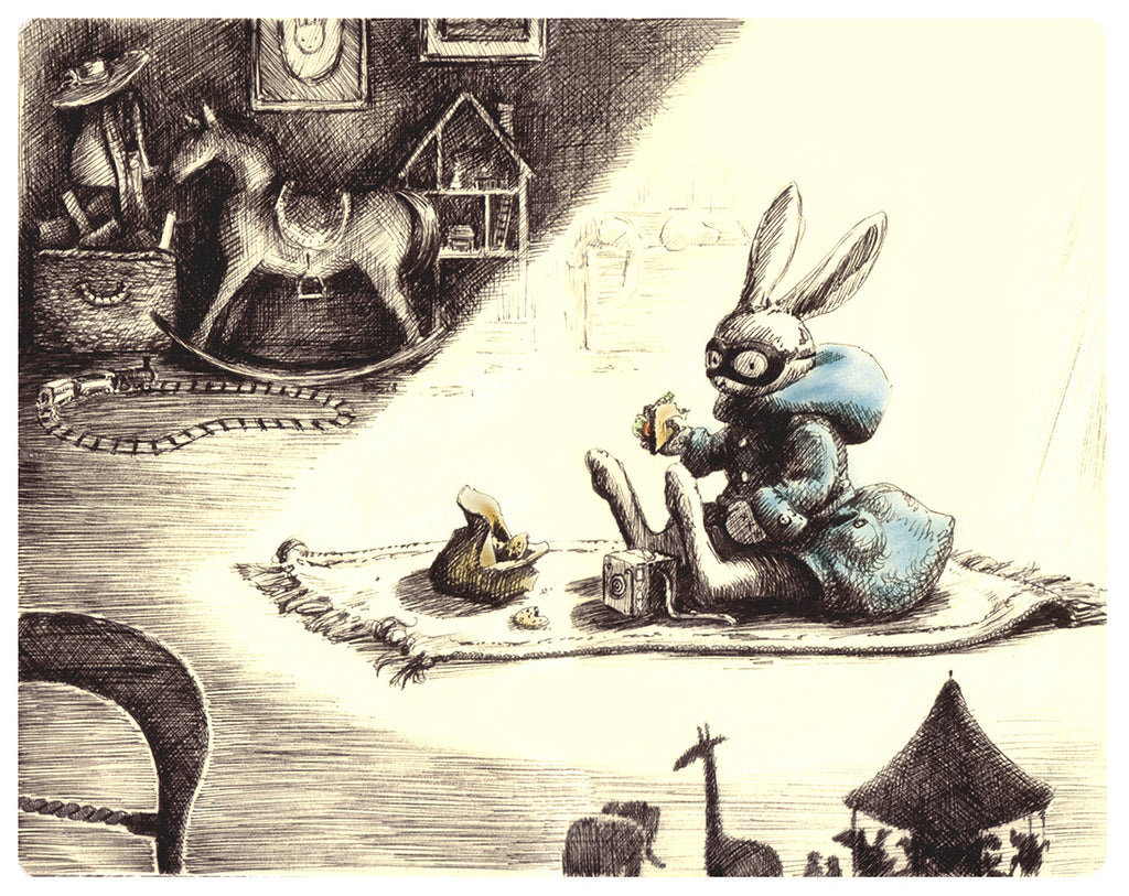 Playroom rabbit