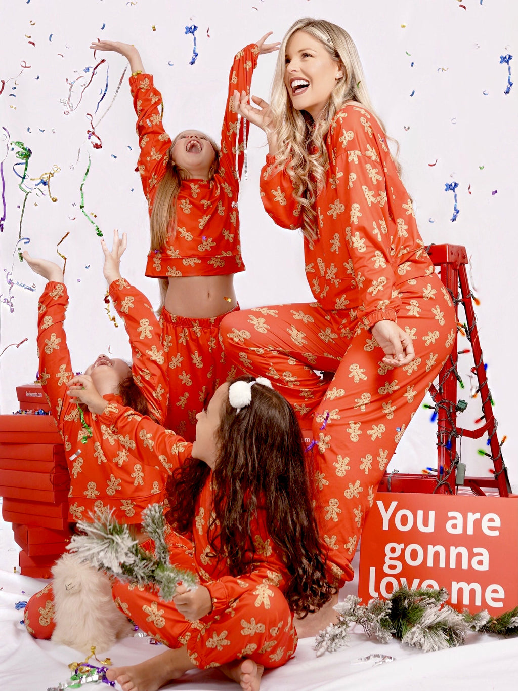 Merry Christmas Woman Set PJ024