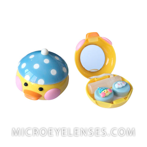 Micro® Eye Circle Lens Duck Contact Case B01972