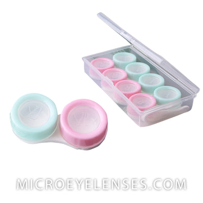 Micro® Eye Circle Lens Macaron Contact Case B01879