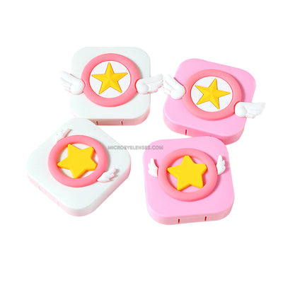 Micro® Eye Circle Lens Cartoon Sakura Magic Array Contact Case B01559
