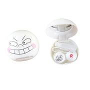 Funny Emoticon Package Contact Case MI01568