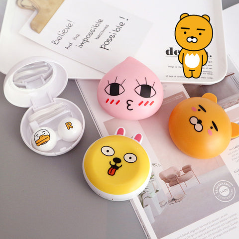 Micro® Eye Circle Lens Kakao Friends Contact Case B0479