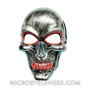 Micro® Eye Circle Lens Skull LED Light Up Masks B01253