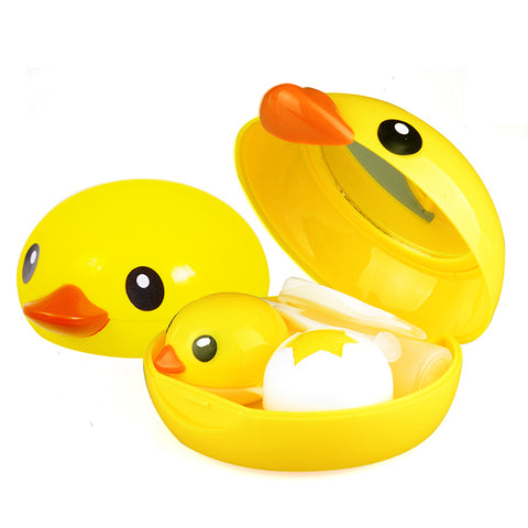 Micro® Eye Circle Lens H-9006 Small Yellow Duck Contact Case B0780