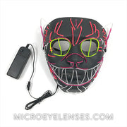 Micro® Eye Circle Lens Elvis LED Light Up Mask B01262