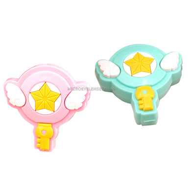 Micro® Eye Circle Lens Cartoon Sakura Magic Wand Contact Case B01571