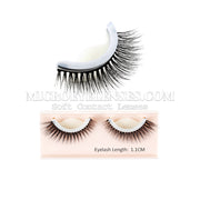 Micro® Eye Circle Lens Microeyelenses New self-adhesive 3D Fake Eyelashes B02087