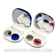 Micro® Eye Circle Lens Concise Contact Case B01962