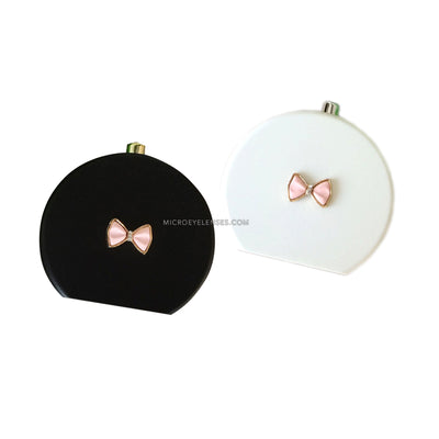 Micro® Eye Circle Lens Cute Bow-Knot Contact Case B01563