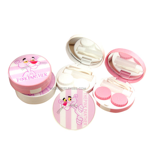 Micro® Eye Circle Lens Pink Panther Contact Case B01570