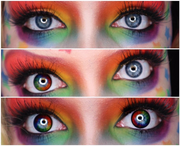 Micro® Eye Circle Lens Soft Rainbow Mary Sue Dream Colored Contacts Lens M01282