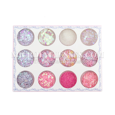 Micro® Eye Circle Lens Microeyelenses Eye Makeup Sequins Suit 4 B02151