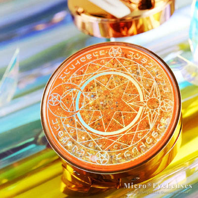 Magic Circle Orange Lenses Case B2270