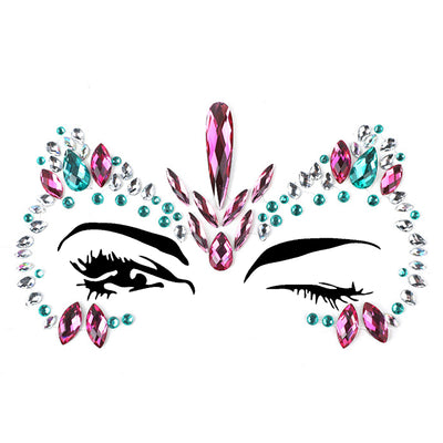 Micro® Resin Crystal Face Jewels B2297