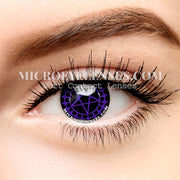 Micro® Eye Circle Lens Ciel's Purple Cosplay Colored Contacts Lens M0110