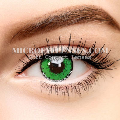 Micro® Eye Circle Lens Gem Green Cosplay Colored Contact Lenses M01892
