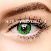 Micro® Eye Circle Lens Single Forest Green Cosplay Colored Contacts Lens M052
