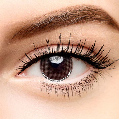 Micro® Eye Circle Lens Polar Lights Brown Natural Colored Contacts Lens M0725