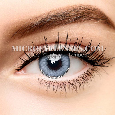 Micro® Eye Circle Lens PRO Crystal-grey Party Colored Contacts Lens M0727