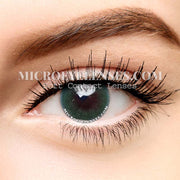 Micro® Eye Circle Lens Polar Lights Green II  Natural Colored Contacts Lens M0079