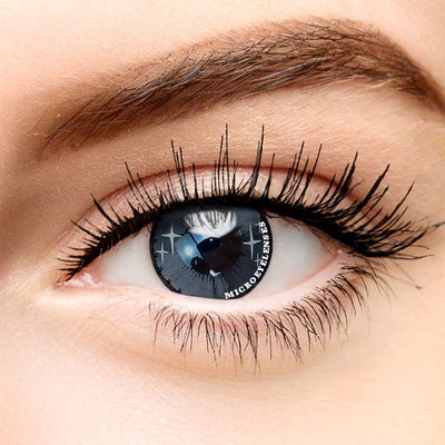 Micro® Soft Eye Circle Lens Dream Colorful Fruits Gray Colored Contact Lenses MI003