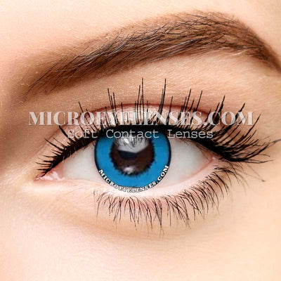 Micro® Eye Circle Lens Harajuku Storm Blue Cosplay Colored Contacts Lens M01074