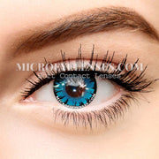Micro® Best Eye Circle Lens Magical Blue Cosplay Colored Contacts Lens M01145