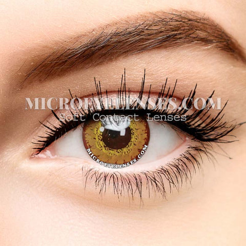 Micro® Eye Circle Lens Gem Brown Cosplay Colored Contact Lenses M01891