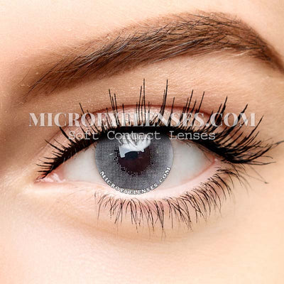 Micro® Eye Circle Lens Polar Lights Grey Natural Colored Contacts Lens M022