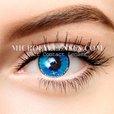 Colorful Fruits Blue Dream Colored Contacts Lens MI032