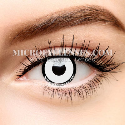 Micro® Eye Circle Lens White-black Edge Cosplay Colored Contacts Lens M0614