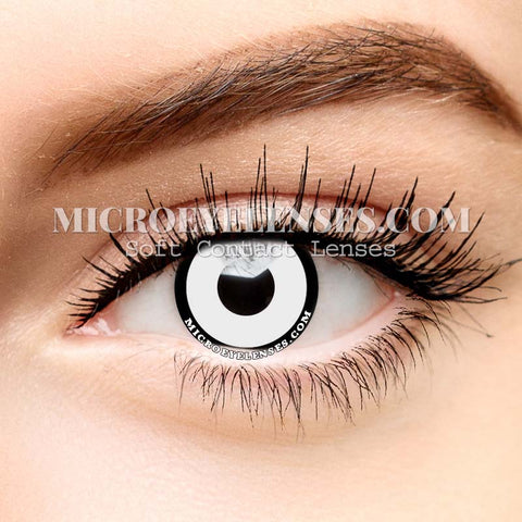 White-black Edge Cosplay Colored Contacts Lens MI0614