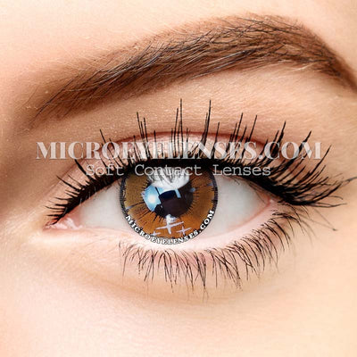 Micro® Eye Circle Lens Colorful Fruits Brown Dream Colored Contacts Lens M065