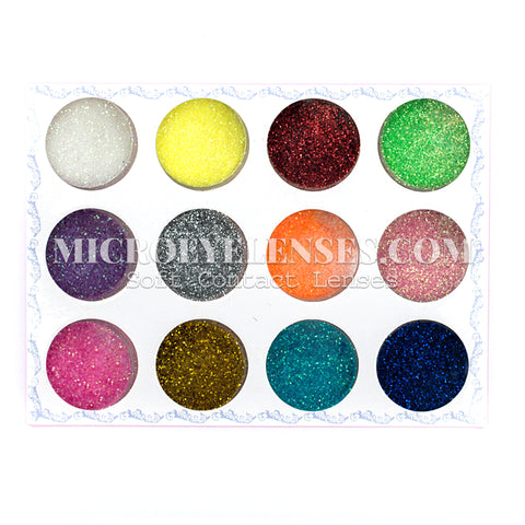 Micro® Eye Circle Lens Microeyelenses Eye Makeup Sequins Powder B02147