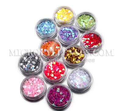 Micro® Eye Circle Lens Microeyelenses Eye makeup Sequins B02088