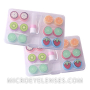 Micro® Eye Circle Lens Fruit Contact Case B01885