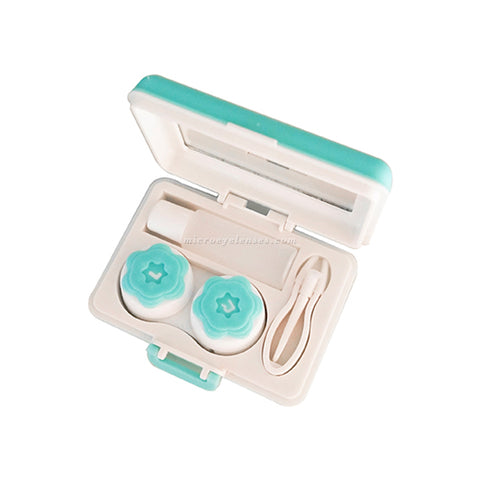 Micro® Eye Circle Lens Suitcase Contact Case B0795
