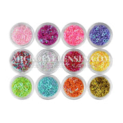 Micro® Eye Circle Lens Microeyelenses Eye makeup Sequins Hollow Love B02144